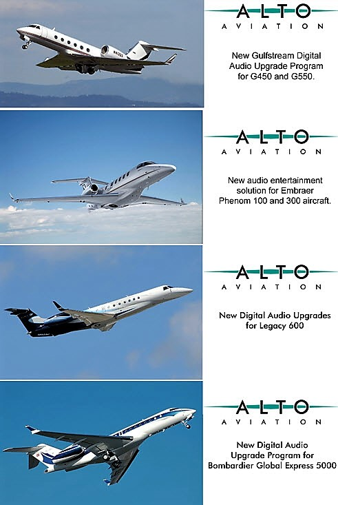 Aircrafts with Alto Aviation installations
