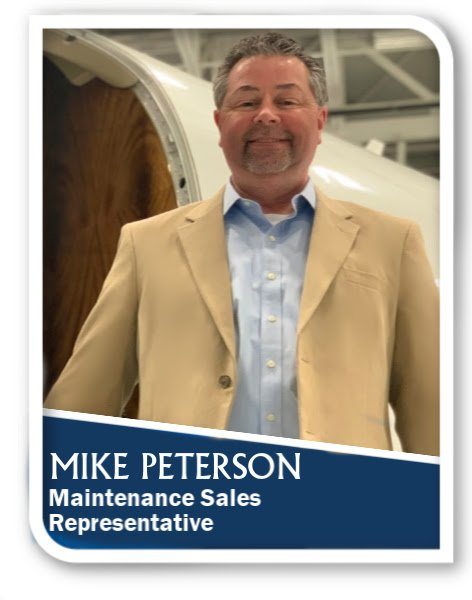 Mike Peterson Joins Pentastar Aviation As Maintenance Sales Representative