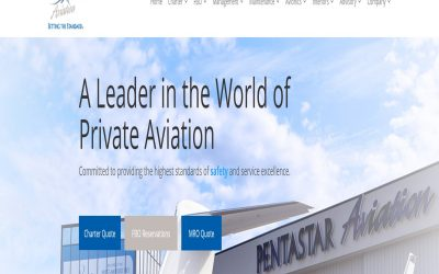 Pentastar Aviation Launches New Customer- Centric Website