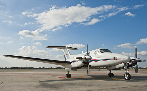 Turbo charter aircraft